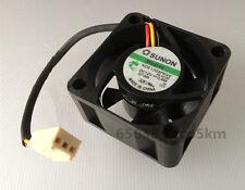 SUNON Maglev KDE1204PKV2 4020 40x40x20mm 12V 0.6W 3 Wire  Silent Cooling Fan