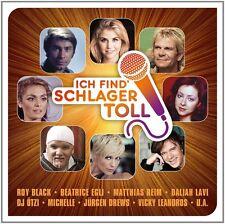 ICH FIND' SCHLAGER TOLL (DAS BESTE)  CD NEU