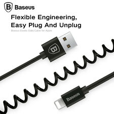 Baseus Coiled Elastic USB Data Sync Charging Cable For Apple  iPhone X 8 7 6s