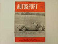 Autosport magazine 1953.Riley reborn.Gatso on the Monte