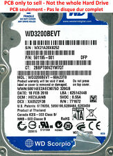 PCB 2060-771672-001 - Western Digital WD3200BEVT - WD3200BEVT-60A23T0 - 320Go
