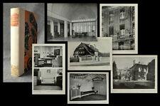 1907 Architektur und Kunstgewerbe Prachteinband Hedberg Scheffler EA