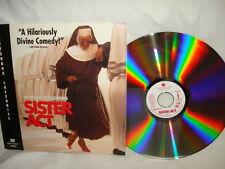 Whoopi Goldberg Sister Act  - Letterbox Laser Disc. PG Digital Sound