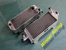ALUMINUM ALLOY RADIATOR SUZUKI RM125T RM125V RM 125 T/V MODEL 2-STROKE 1996-1997