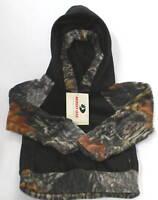 Mossy Oak Camo Fleece Hoodie Pullover, Boys Kids Camouflage
