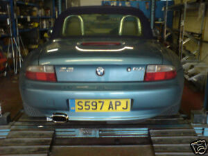 BMW Z3 2.0/2.8/STAINLESS STEEL EXHAUST SYSTEM-FITTED