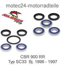 Radlager Set Honda hinten CBR 600 CBR 900 RR NT 700 V  VT 750 Black Widow
