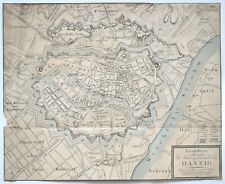 Gersdorff: Grundriss der Westpreussischen See Handlungsstadt Danzig (1822).