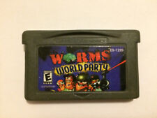 Worms World Party Game Nintendo Gameboy Advance - Cartridge only