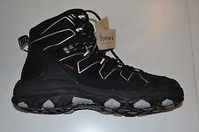 NEW Bearpaw Claudius Men's Hiking Work Black Boots Memory Foam Footbed Size 10