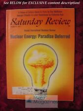 Saturday Review January 22 1977 NUCLEAR ENERGY TOM STEVENSON THOMAS C. SCHELLING