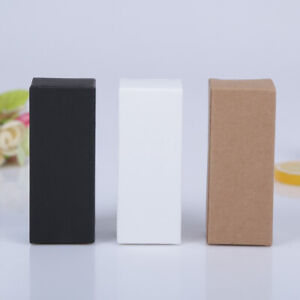 Kraft Paper Box Storage Package For Lipstick Perfume Essential Oil Cosmetic Pack