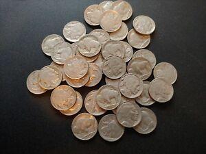 Nice Roll (40) of XF/Better Buffalo Nickels