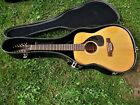 YAMAHA FG-230 12 STRING GUITAR, MADE IN JAPAN, RED LABEL, CASE, CLEAN