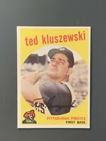 1959 Topps #35 Ted Kluszewski EXMT Pittsburgh Pirates