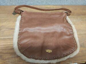 UGG Tan Leather Shoulder Hand Bag