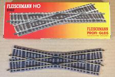 FLEISCHMANN 6162 PROFI GLEIS LEFT CROSSING TRACK MINT BOXED nn