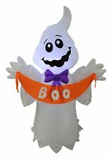 Halloween LED Air Blown Inflatable Yard Party Blowup Decoration Ghost BOO Banner