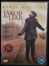 JAKOB THE LIAR DVD - Selling for Abandoned Dogs - Robin Williams