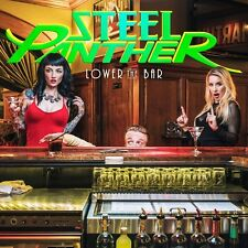 STEEL PANTHER - LOWER THE BAR   VINYL LP NEUF