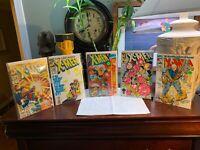 Marvel Comic Book Collection LOT Of 5 Xmen Very Nice Shape BUNDLE