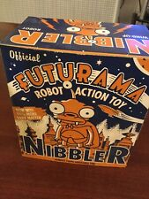 Futurama Nibbler wind-up robot tin toy collectible by Rocket USA in box