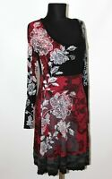 Desigual womens black red dress Size L