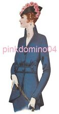 1915 WWI Jacket Pattern, Bust 36 inches, Downton, Steampunk