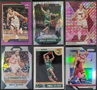 Lot of (6) Kelly Olynyk, Including Prizm Flash, NBA Hoops RC, Prizm silver, more