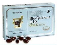 PHARMA NORD BIO-QUINONE Q10 GOLD 100MG 150 CAPS COQ10 UBIQUINONE BIO QUINONE Q10