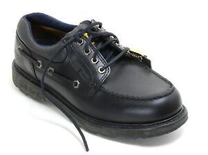 56 Chaussures à Lacets Bateau Marine Power Bottes en Cuir Caterpillar 41
