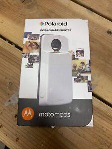 Motorola Polaroid Insta-Share Printer Moto Mod- PG38C02062 for Moto Z Phones