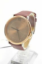 Tommy Hilfiger 1781810 Sloane Rose Dial Maroon Leather Strap Ladies Watch
