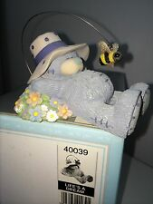 """LARGE 8cm 3"""" LONG BOXED ME TO YOU FIGURINE TATTY TEDDY BEAR ~ LIFES A DREAM"""