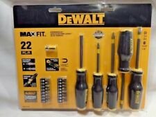 Dewalt DWHT74764 22 Piece Max Fit Screwdriver Set
