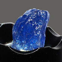Natural Tanzanite Rough 33.10 Cts Vibrant Blue Stunning Rare Certified Gemstone