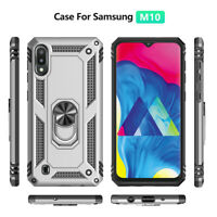 For Samsung Galaxy A50 A30 A70 A10 Hybrid Magnetic Ring Holder Stand Case Cover