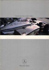 West McLaren Mercedes-Benz Mika Hakkinen F1 Champions 1998-99 UK Market Brochure