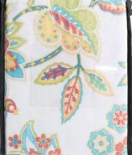 "Cynthia Rowley Cotton Blend Shower Curtain 72 X 72  ""Casita"""