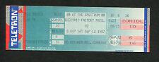 U2 1987 Joshua Tree Tour Unused Concert Ticket Philadelphia With Or Without You