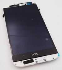 Original HTC One M8 LCD Display Touchscreen Frame SIM Reader Silver