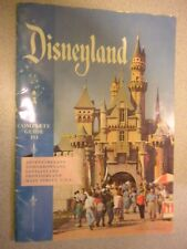DISNEY 1956 OFFICIAL DISNEYLAND GUIDE BOOK - SECOND ONE EVER ISSUED - VG+