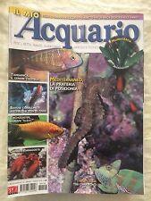 IL MIO ACQUARIO n.116 anno 2008 rivista di pesci rettili piante invertebrati...