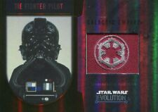 Star Wars Evolution 2016 Gold Patch Card [25] TIE Fighter Pilot - Galactic Empi