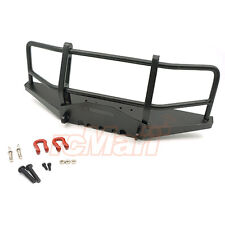 Xtra Speed Metal Front Bumper w/Winch Shackles RC4WD D90 D110 RC Cars #XS-59663