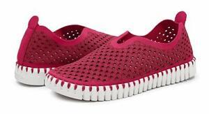 Ilse Jaconbsen Women's Tulip 139 Perforated Slip-On Sneaker