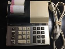 Vintage Texas Instruments TI-5135 Desktop Calculator with Thermal Printer Tested