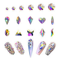 Professionnel Multi Forme DIY Nail Art AB Strass Cristal Décoration