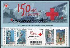 STAMP / TIMBRE FRANCE  BLOC FEUILLET NEUF N°  F4910 ** LA CROIX ROUGE A 150 ANS
