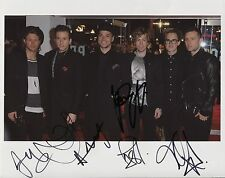 McBusted Fully Signed 8 x 10 Photo Genuine Obtained In Person + COA